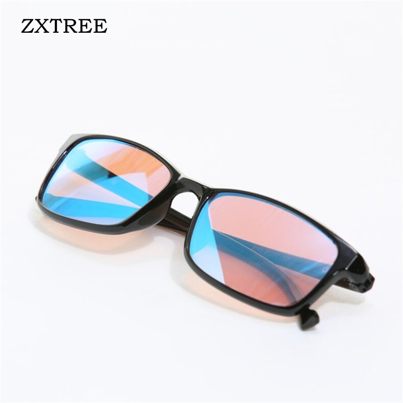 ZXTREE Color blindness Glasses Red Green Color Blind Corrective HD Glasses Women Men Colorblind Driver s