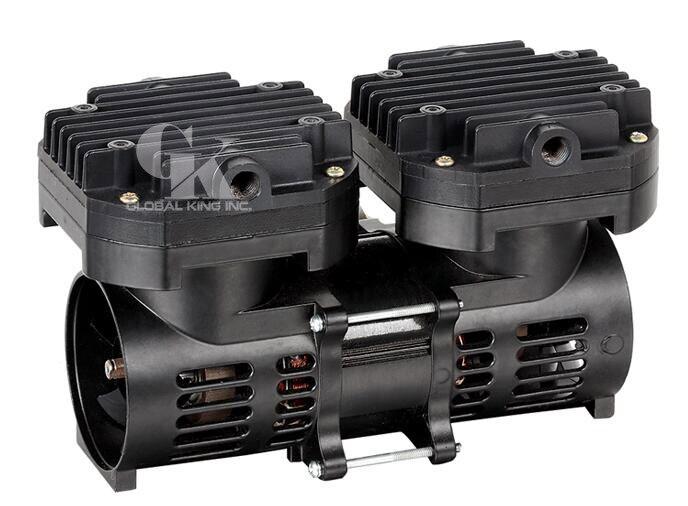 Mini pompe à vide à membrane d'air 110 V sans huile 70L/M (2.5CFM)