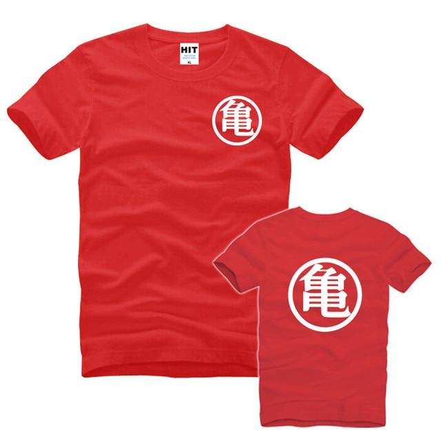 Dragon Ball Z Son Goku Camisa Dos Homens T T-shirt Dos Desenhos Animados Dos Homens Tshirt da moda 2016 O Pescoço de Algodão de Manga Curta Camisetas Masculina