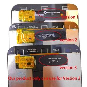 KOSPPLHZ 100% اختبار جديد ل Cubot ملاحظة S شاشة الكريستال السائل مجموعة المحولات الرقمية لشاشة تعمل بلمس استبدال Cubot ملاحظات شاشة LCD + أدوات