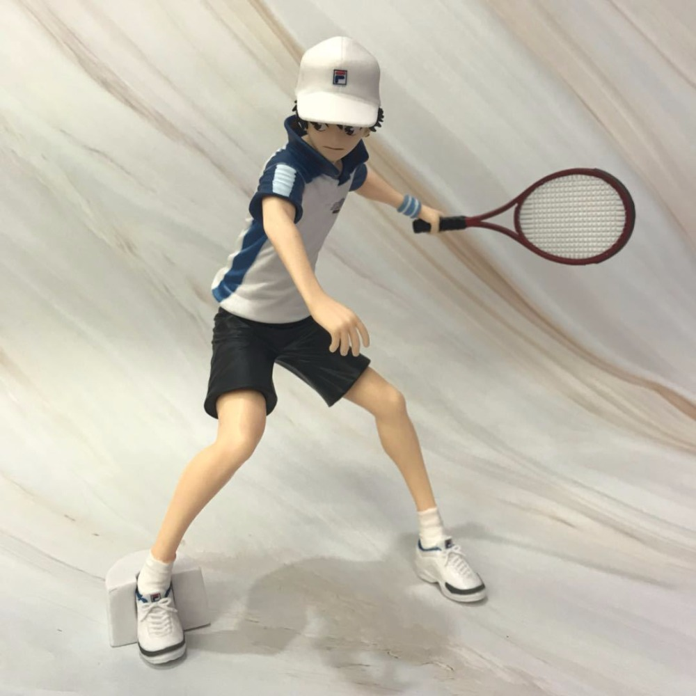 HKXZM Anime 17.5CM Prince of Tennis Ryoma Echizen JUMP 50th Anniversary PVC Figure Collectible Toys Model Christmas Gift