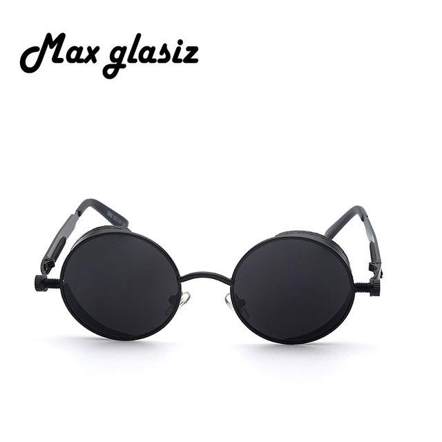 Round Steampunk Sunglasses Vintage