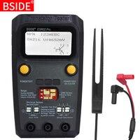 BSIDE ESR02 pro Multi purpose Transistor Tester Diode Triode Capacitance Resistor Meter MOS/PNP/NPN SMD Tester