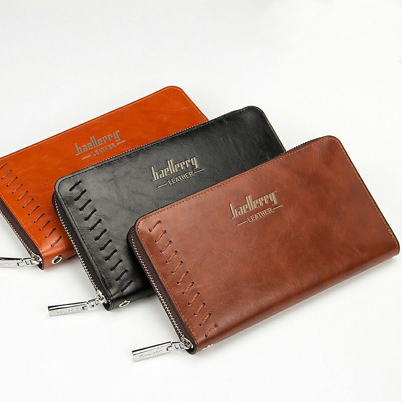 2016 New Fashion Men Wallets Casual Wallet Men Purse Clutch Bag Brand Leather Long Wallet Design Hand Bags For Men Purse