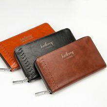 2016 neue Mode Männer Geldbörsen Beiläufige Brieftasche Männer Clutch tasche Marke Leder Lange Brieftasche Design Hand Taschen Für Männer geldbörse