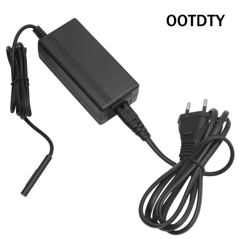 OOTDTY High Quality 15V 1.6A AC Power Wall Charger Adapter US/EU Plug 1.5M For Microsoft Surface Pro 4 M3