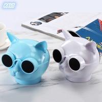 Cat head fashion style T8 Bluetooth speaker quality ,