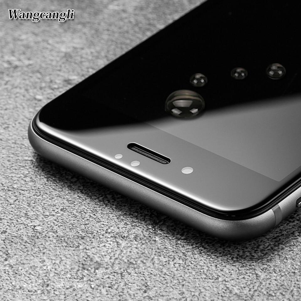wangcangli Upscale Full täckning 3d Skyddsglas för iPhone 6 6s plus - Reservdelar och tillbehör för mobiltelefoner - Foto 3
