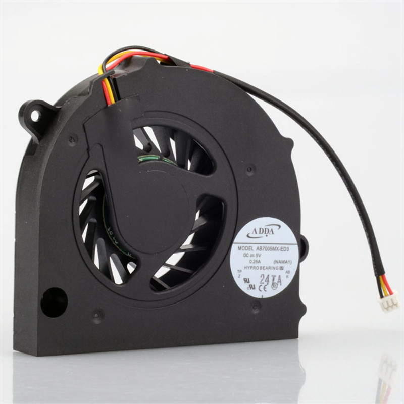 Computer CPU Cooling Fan Replacement Component Fit For Toshiba Satellite L500 L505 L555 Series Laptops Cooler F0235 туники kangra туника