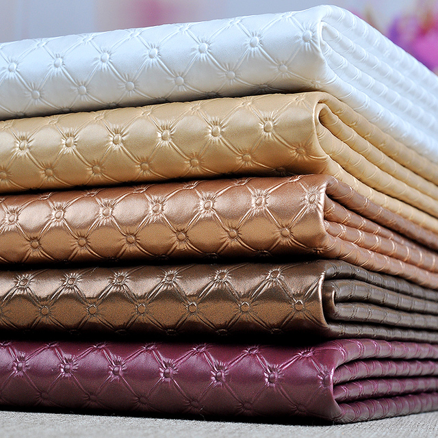 50x135cm Pvc Synthetic Leather Furniture Fabric, Pvc Upholstery Fabric Sofa,  Thick Faux Leather Material