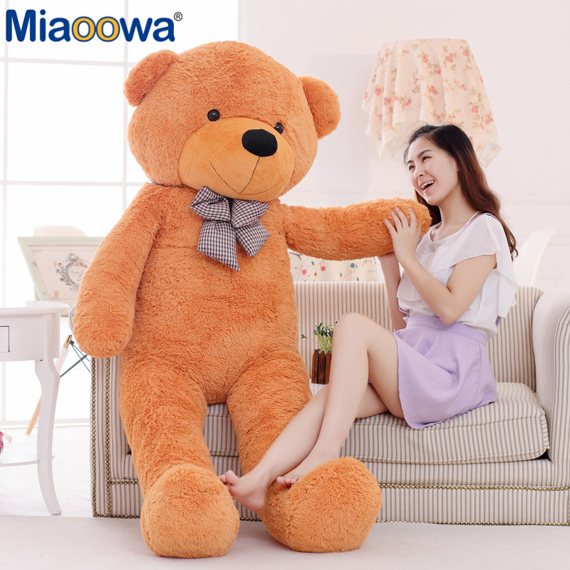 1Pc 200cm Big Size Classic Selling Toy Big Size Teddy Bear Skin ,Teddy Bear Coat ,Good Quality Factary Price Soft Toys For Girls1Pc 200cm Big Size Classic Selling Toy Big Size Teddy Bear Skin ,Teddy Bear Coat ,Good Quality Factary Price Soft Toys For Girls