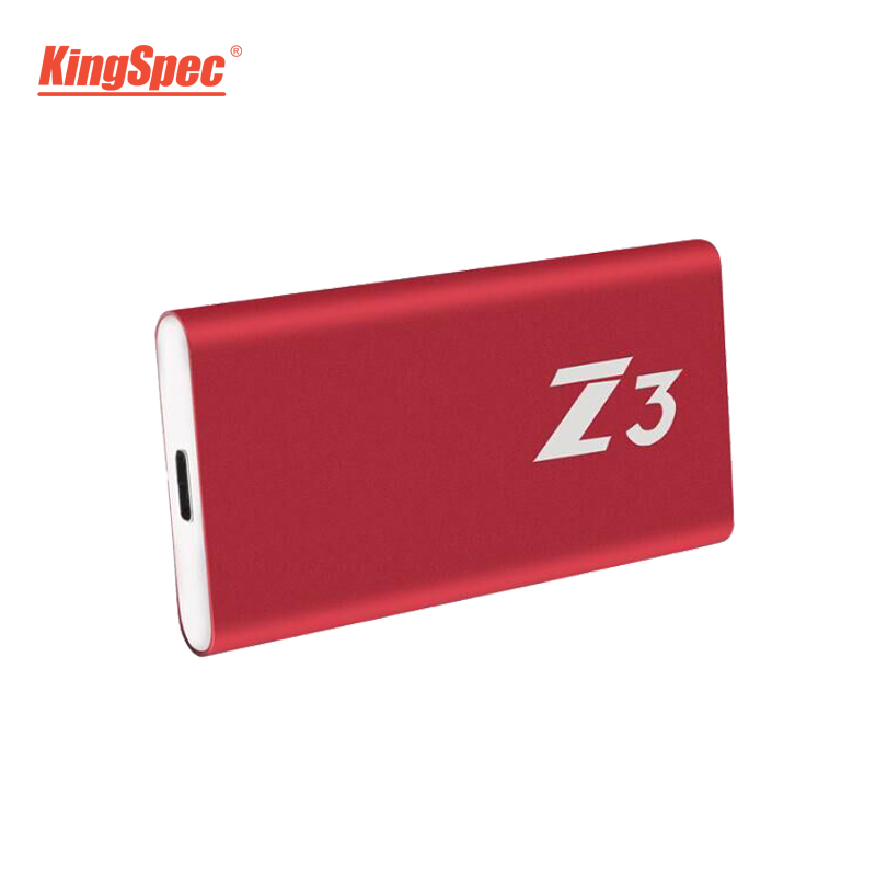 Z3-256 KingSpec Externe Portable SSD Disque Dur 256 gb USB 3.1 Type-c Solide State Disk Usb 3.0 - 5