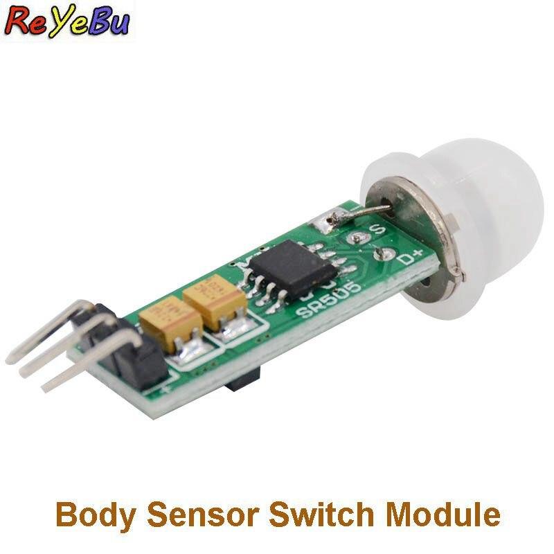 Mini Infrared PIR Motion Sensor HC-SR505 Precise Infrared Detector Module For Arduino Body Sensor Switch Module Sensing Mode