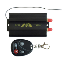 SECUMORE Car Auto Vehicle Tracker Tracking Device GPS/GSM/GPRS Tracker GPS TK103B With Remote Control Car Alarm