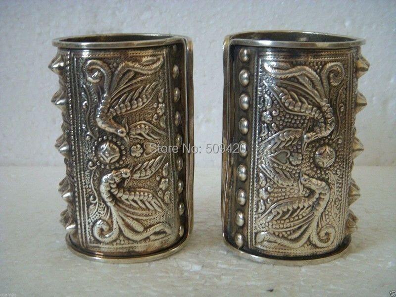 Xfs2335 > > exquis belle Tibet argent hommes Bracelet