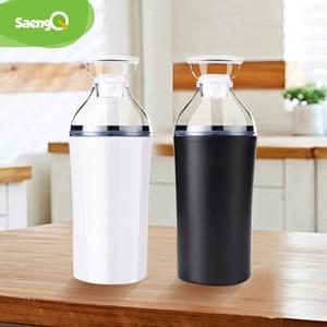 Image 2 - saengQ Handheld Food Vacuum Sealer Packaging Machine Film Container USB Sealer Vacuum Packer With 6 or 10pcs Vacuum Zipper Bags