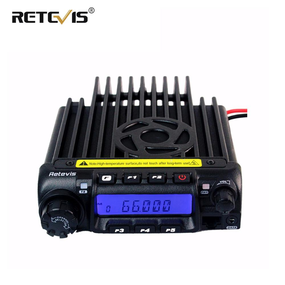 Retevis RT 9000D Mobile Car Radio Transceiver VHF 66 88MHz or UHF 60W 200CH Scrambler Walkie