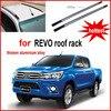 Cross Bar Roof Rack Beam Running Board Footplate Pedal For Toyota REVO Thick Aluminum Alloy OEM