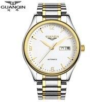 Famosi orologi di marca guanqin vigilanza degli uomini 2017 giapponese movimento impermeabile orologi meccanici maschile di lusso automatico orologio