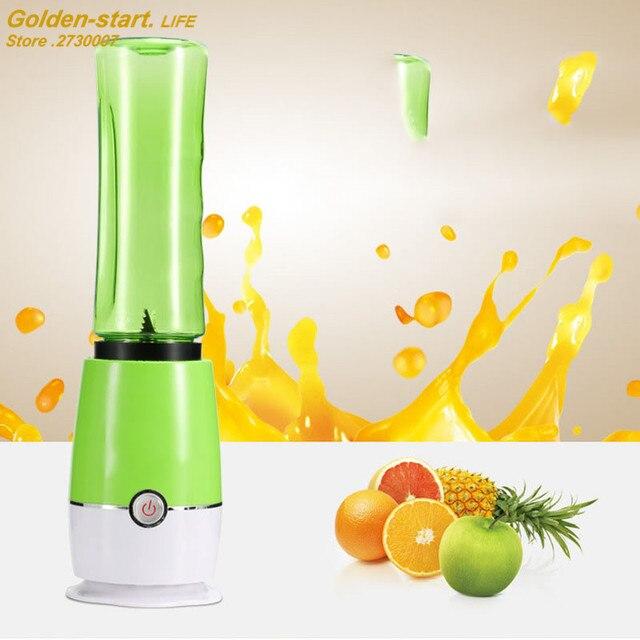 Portable Mini Electric Juice Cup Desktop Fruit Vegetables Juice Maker Food Mixer 4 Colors Outdoor Stirring Cup