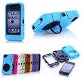 Новый Коке Funda Для iPhone 4S Телефон Обложка Heavy Duty High Impact грязь Противоударный Броня Футляр для IPHONE 4S 4G 4 12 Цветов