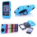 New Coque Funda For iPhone 4S Phone Cover Heavy Duty High Impact Dirt Shockproof Armor Case Cover for iPhone 4S 4G 4 12 Colors