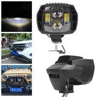 1PC 40W LED Auxiliary Low Beam Work Light 12V 24V Used for Motorbike Offroad Car Truck Suv ATV, UTV, 4 x 4, Sand rails