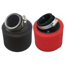 35 мм-45 мм 45 градусов воздушный фильтр для ATV Dirt Pit Bike питбайк Мотокросс Мотоцикл карбюратор 110 cc 125 cc CRF50 XR50 CRF Kayo
