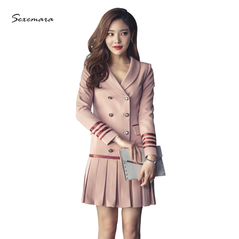 pink pleated dress spring 2017 new arrivals high quality v-neck thick suit dress maison jules new junior s medium m pink dotted pleated contrast knit dress $79