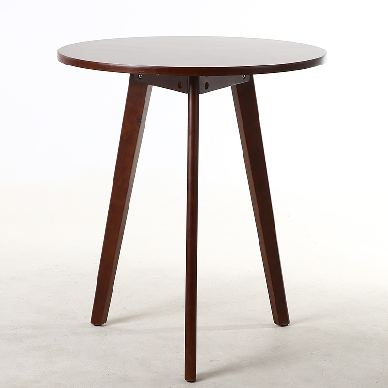 60*60cm Solid wood High legs round table Tea table Coffee Table Bedside table