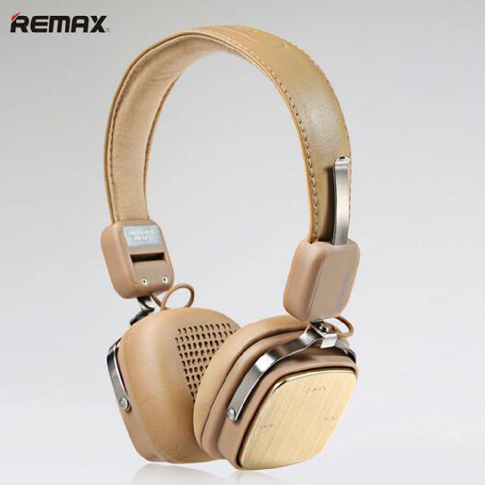 REMAX 200HB Bluetooth Headphones Headset Adjustable Soft Leather AUX Wireless Bluetooth 4.1 Earphone For iPhone 7 7 plus remax s2 bluetooth headset v4 1 magnet sports headset wireless headphones for iphone 6 6s 7 for samsung pk morul u5