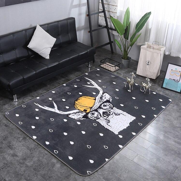 Tapis enfants chambre bande dessinée tapis pour salon chaud petits tapis pour chambre décoration Table basse tapis de sol étude/Restaurant