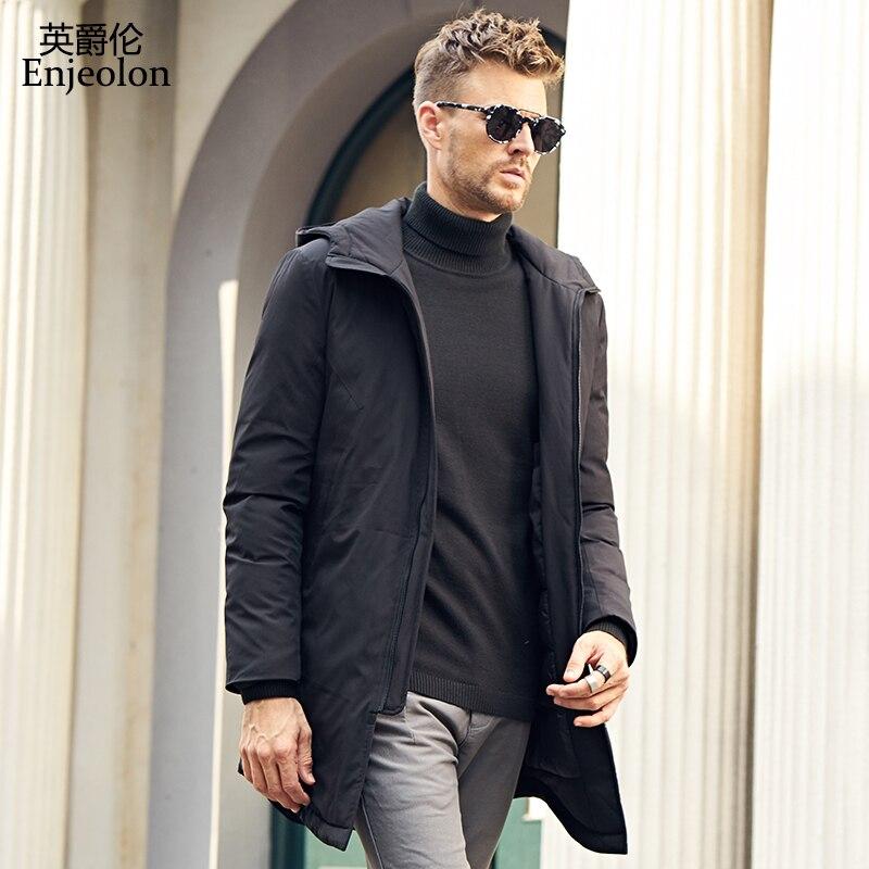 ripped jeans jacket men Embroidery cotton Mens Denim Jacket long Hip Hop Jeans Vintage Denim Bomber