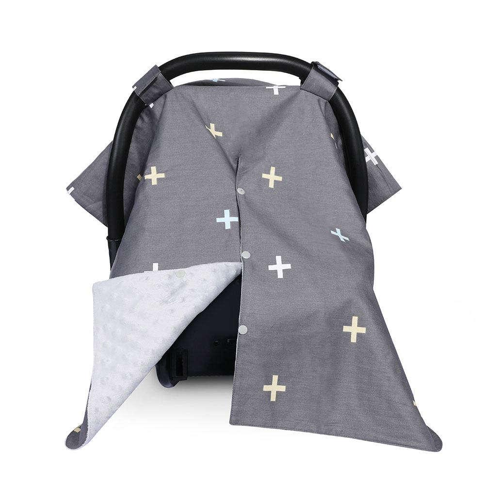Best Baby Shower Gift For Breastfeeding Mom 2 In 1 Carseat Canopy And Nursing Cover Up