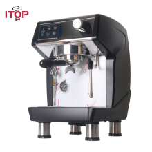 ITOP 1.7L Espresso Electric Coffee Machine Commercial 20Bar Milk Foam Maker Automatic Cappuccino Americano