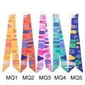 100X4CM Women Winter Silk Scarves Long Narrow Multifunction Classic Foulard Ribbon Luxury Brand Twilly Hair/Handbag Band Tie S7