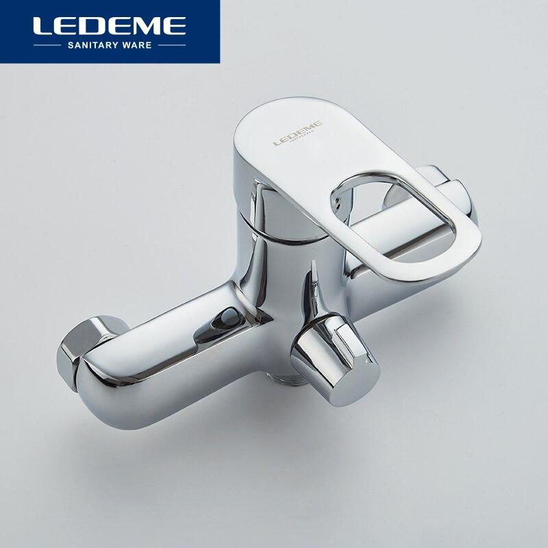LEDEME 1 ensemble salle de bain baignoire robinets luminaire ensembles robinets ensemble bain douche robinet salle de bains douche ensemble cascade pomme de douche L2249 - 3