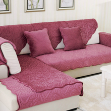 Multi-size Simple Design Sectional Couch Sofa Cover 5 Solid Colors Sofa Towel for Living Room Free Shipping free shipping classic 123 sectional living room sofa top grain leather sofa solid wood frame fashion and durable the furniture