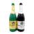 Nueva Fuga Champagne Botella de trucos de magia de LÁTEX ((Negro o Verde) Botella de Vino Etapa Truco de magia de cerca atrezzo Truco 81125