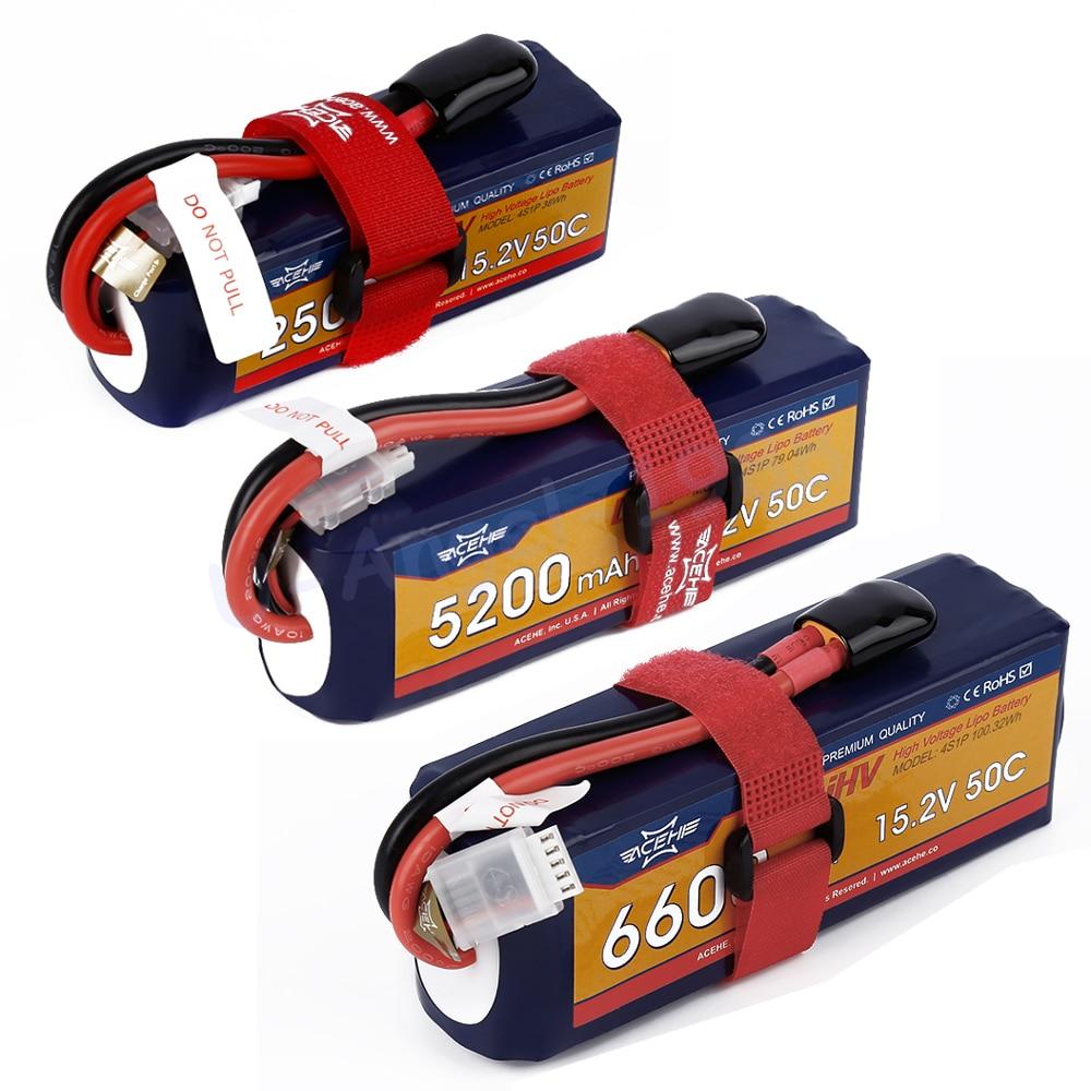 Acehe 15.2V 1600mAh 2500mah 5200mah 6600mah 50C 4S1P 24.32Wh XT60 Plug High Voltage Lipo Battery acehe 15 2v 1600mah 2500mah 5200mah 6600mah 50c 4s1p 24 32wh xt60 plug high voltage lipo battery