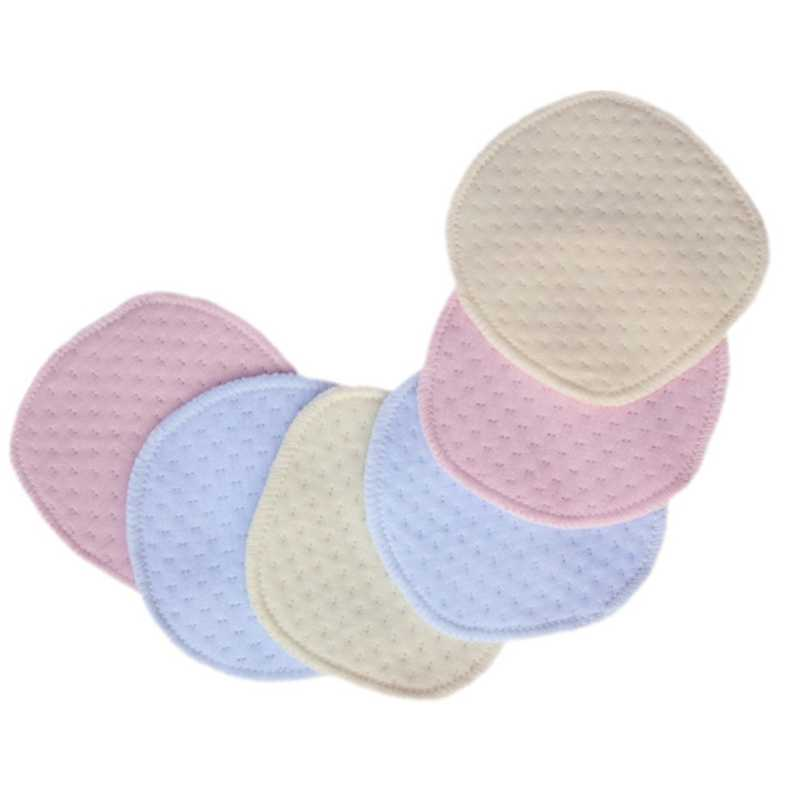 New 1Pc Reusable Nursing Breast Pads Washable Soft Absorbent Baby Breastfeeding Cover Random Color