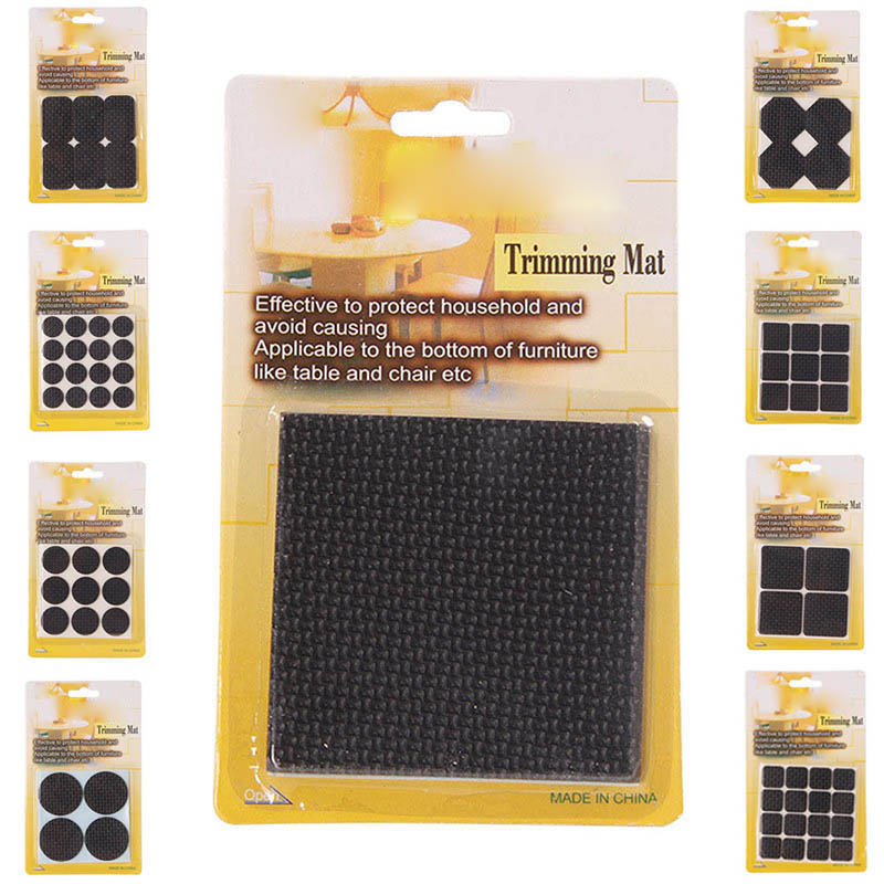 Multifunction Furniture Protection Pad Rubber Self Adhesive Anti-Skid Floor Scratch Protector Pads HG99