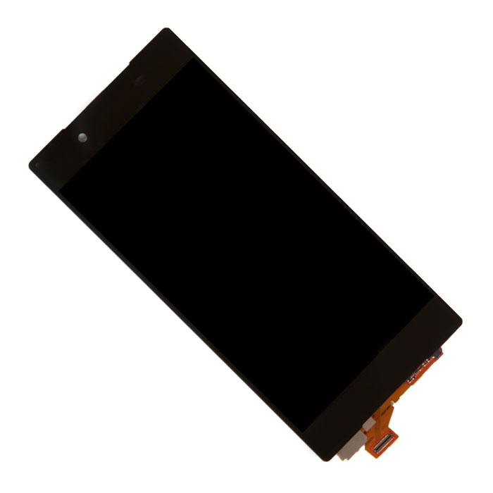 ФОТО display assembly with touchscreen for Sony for Xperia Z5 E6653 black