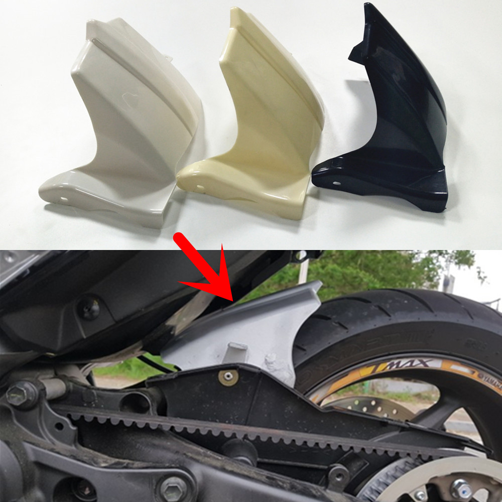 3 Colour For Yamaha TMAX 530 Tmax 530 2012 2012 2014 2014 Motorcycle Mudguards Rear Fender MOTO Unpainted White Blank ABS 12-14