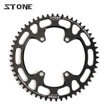 אבן מעגל Chainring אחת BCD 110mm BCD110 עבור כביש אופני אופניים מתקפלים 105 5800 6800 Ultegra 4700 Tigra 9000 chainwheel