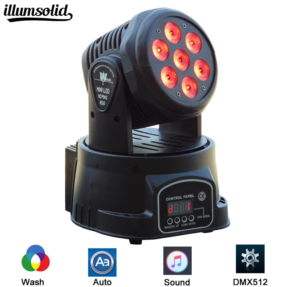 LED 7x12w moving head Light  RGBW 4in1 Wash DMX 512 DJLED 7x12w moving head Light  RGBW 4in1 Wash DMX 512 DJ