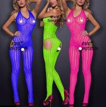 Mulheres trajes sexy lingerie roupa interior erótico produto porn babydoll Órgão de lotação/baby doll vestido Catsuit Crotchless Chemises