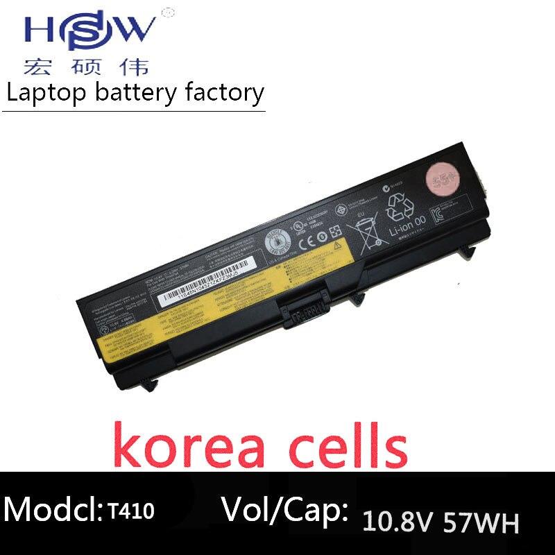 HSW Batteria Per Lenovo E40 E50 L410 L412 L421 L510 L512 L520 SL410 SL510 T410 T410i T420 T510 T510i T520 w510 bateria