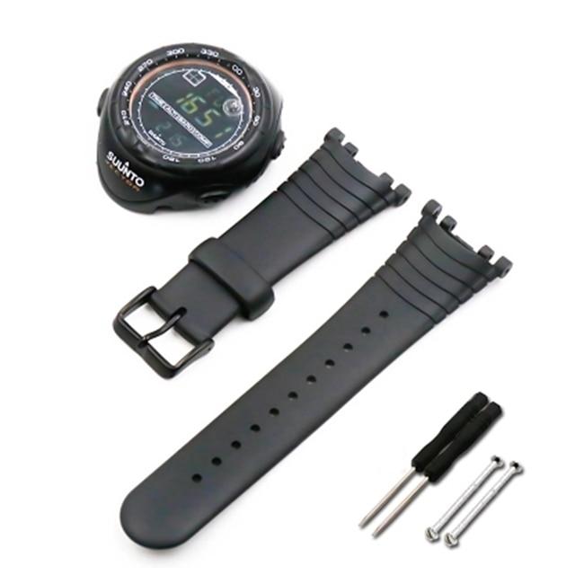 2806df30922c Reloj nuevo accesorios para suunto vector original suelto extensión de  serie hombres y mujeres original Correa accesorios de mesa