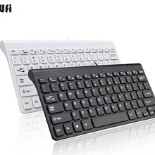 KuWFi New Keyboard Ultra thin Quiet Small Size 78 Keys Mini Multimedia USB Keybo